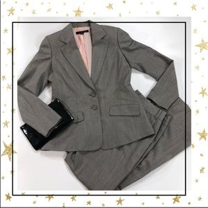 Anne Klein Grey Pants and jacket suit (GP23A8K)